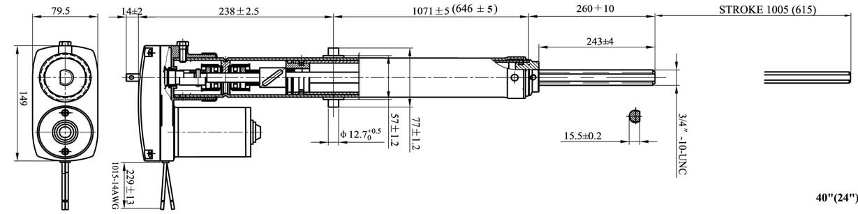 Actuator 01RV  Draw